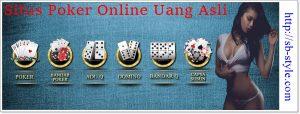 Situs Poker Online Uang Asli